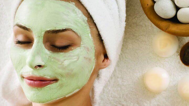 маска для лица из сельдерея