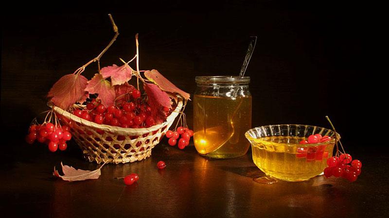 калина с медом